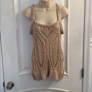 LC Lauren Conrad Loose knit Top